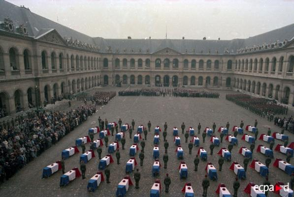 French Memorial Service